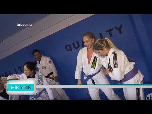 Por Você - Atividade Física: aula de Jiu-jitsu 23/02/19