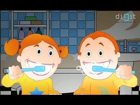 Brush Our Teeth | Animated Nursery Rhymes & Songs For Kids - YouTube