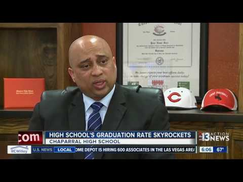 Chaparral High School's graduation rate rises dramatically