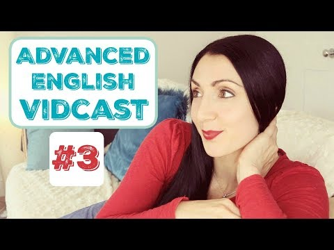 Advanced English Vidcast LIVE #3: Owls, Bill Withers and Roald Dahl.