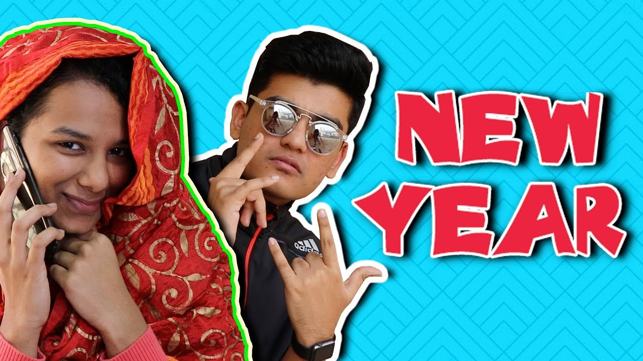 Just NEW YEAR Things! - YouTube