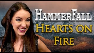 Download Hearts on Fire - Hammerfall  🔥 (Cover by Minniva feat. Mr Jumbo) MP3 song and Music Video