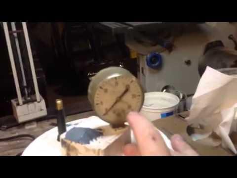 25$ Pressure Pot for casting Resins