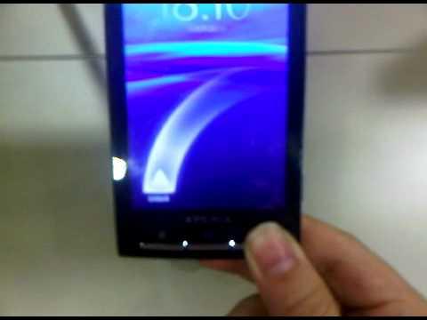 Unlock Sony Ericsson X10 ,  Unlock X10i , Check Attempts