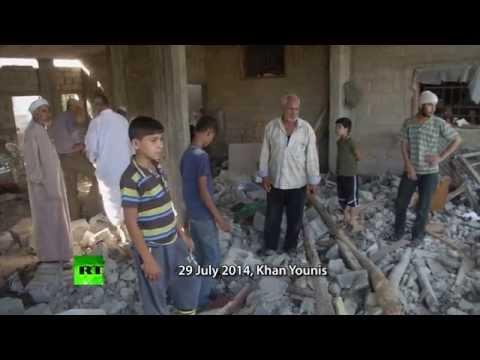 Devastation: Gaza shelter & aftermath of IDF assaults (GRAPHIC)