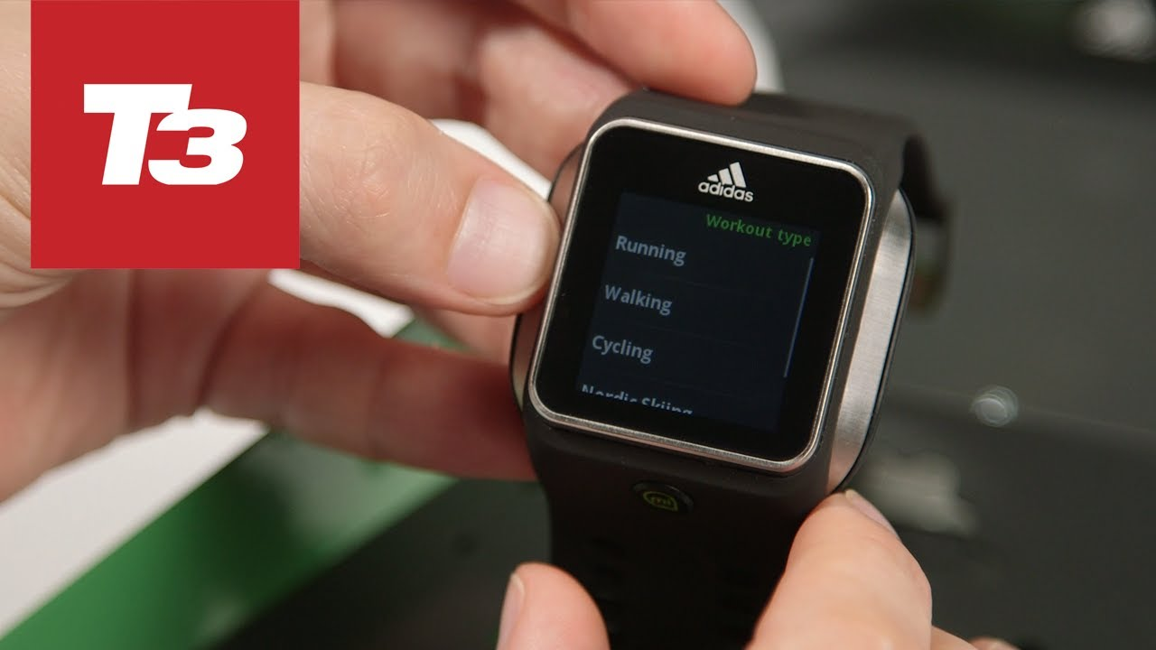 finest selection a6372 68721 New adidas MiCoach hands-on - YouTube