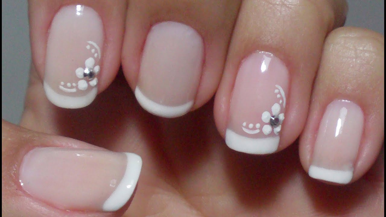 Decorated Nails Delicate And Simple To Make