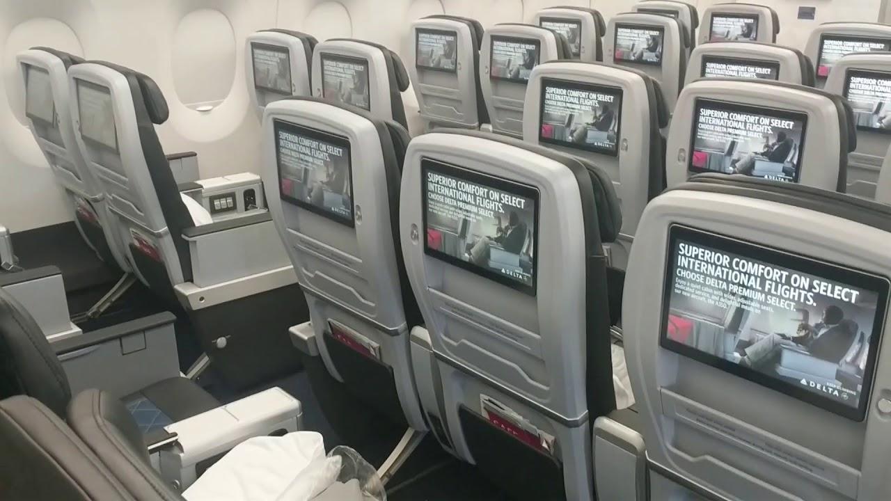 Delta A350 Premium Select Preview