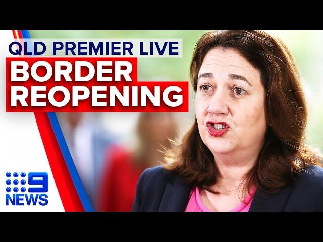 Coronavirus: QLD border hours away from reopening | 9 News Australia