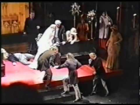Jekyll and Hyde Broadway 1997 - The Wedding Scene and the Bows (Part 19)