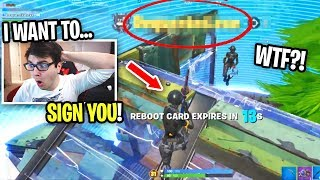 I spectated my TRIO PARTNERS and was SHOCKED... (should we SIGN THEM?)