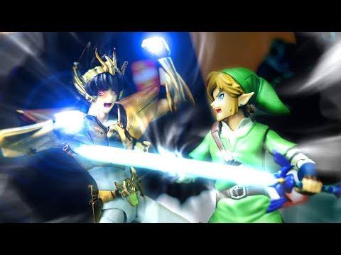 Link VS Pegasus Stop Motion