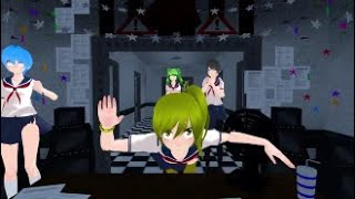 MMD try not to laugh - yandere simulator #8