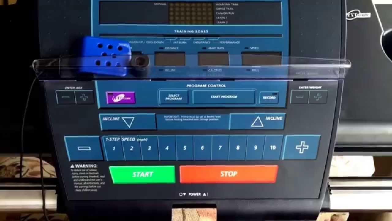My New Treadmill Youtube