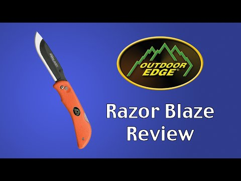 Outdoor Edge Razor-Blaze Knife Review