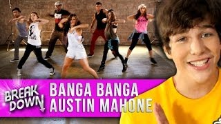 "Austin Mahone  - ""Banga Banga"" Music Video Dance Tutorial - Clevver Breakdown"