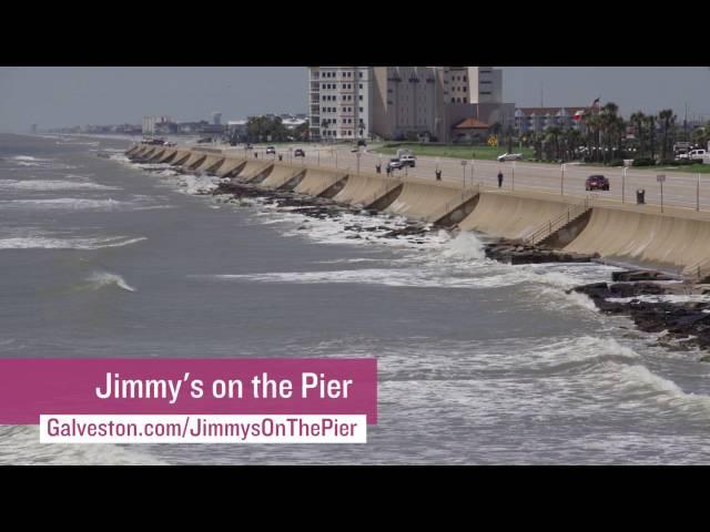 吉米在码头上