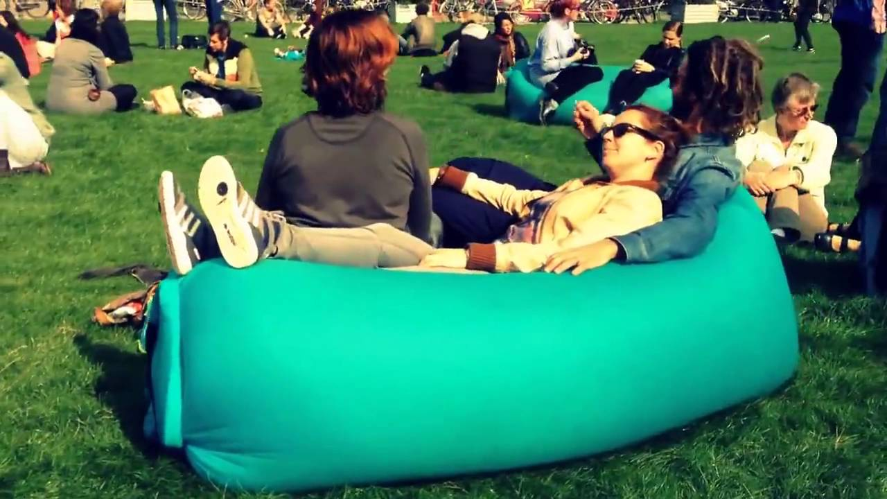 Outdoor Inflatable Sofa Youtube