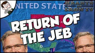 Return of the Jeb Hearts of Iron 4 hoi4 What if Jeb Won Mod Gameplay