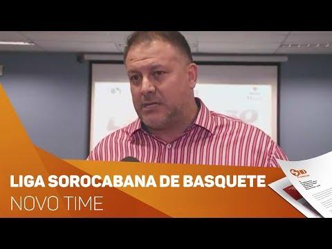 Novo time da Liga Sorocabana de basquete - TV SOROCABA/SBT