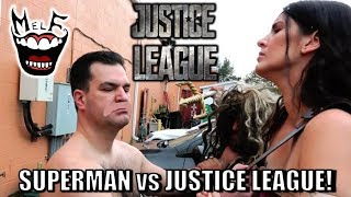 SUPERMAN vs JUSTICE LEAGUE Epic Parody! Feat. Batman Wonder Woman Flash Aquaman Cyborg