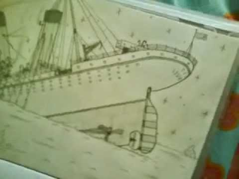 Titanic Dessin Youtube
