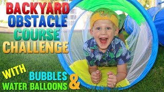 Obstacle Course Challenge Games!