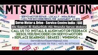 MTS Automation Dubai Servo Motor Encoder Resolver  Align Repair UAE Oman Bahrain Kuwait Qatar Saudi