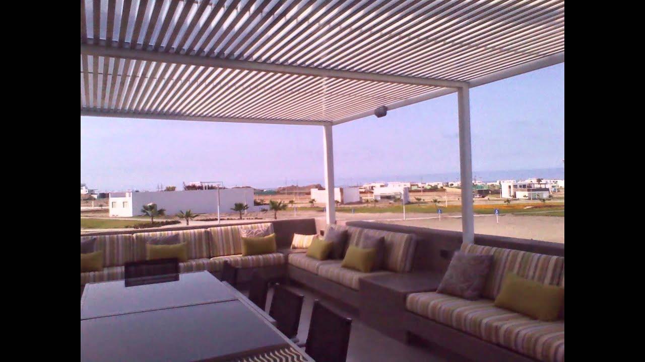 Techos sol y sombra de aluminio y policarbonato youtube - Techos de aluminio para terrazas ...