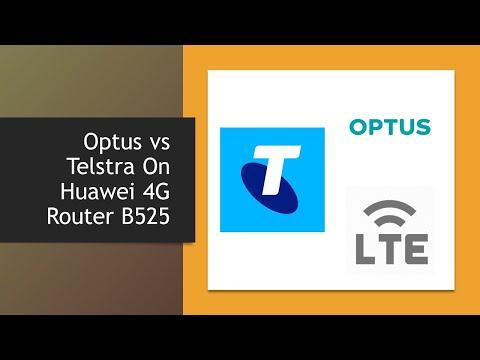 Optus Vs Telstra On Huawei 4G Router B525
