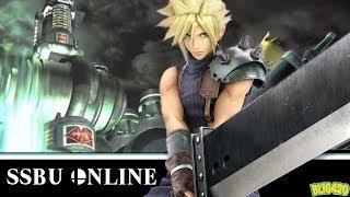Super Smash Bros. Ultimate. CLOUD ONLINE GAMEPLAY
