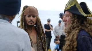 Как снимали фильм Пираты Карибского моря: Мертвецы не рассказывают сказки