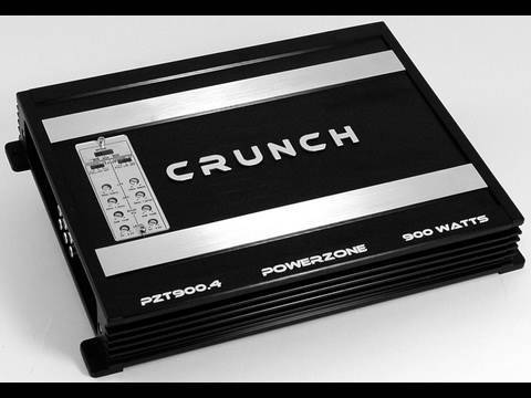 Crunch PowerZone PZT Series Amplifiers Featuring TOP MOUNT CONTROLS