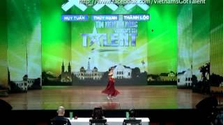 vietnams got talent 2012 - vong loai san khau - nguyen trang linh