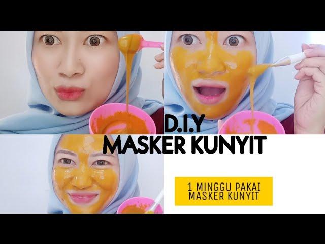Cara Membuat Masker Kunyit Anti Kuning Diy Cara Menghilangkan Jerawat Dan Flek Hitam Youtube