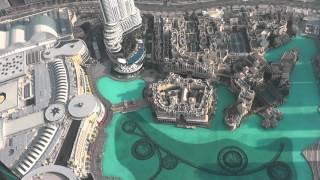 Дубаи Молл, Башня Халифа и музыкальные фонтаны