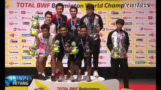 Hendra/Ahsan Raih Gelar Ketiga Kejuaraan Dunia Badminton