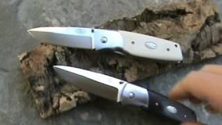 Fallkniven knives - PXL Brown Micarta knife -  PXL Ivory Micarta knife - Coltelleria Collini