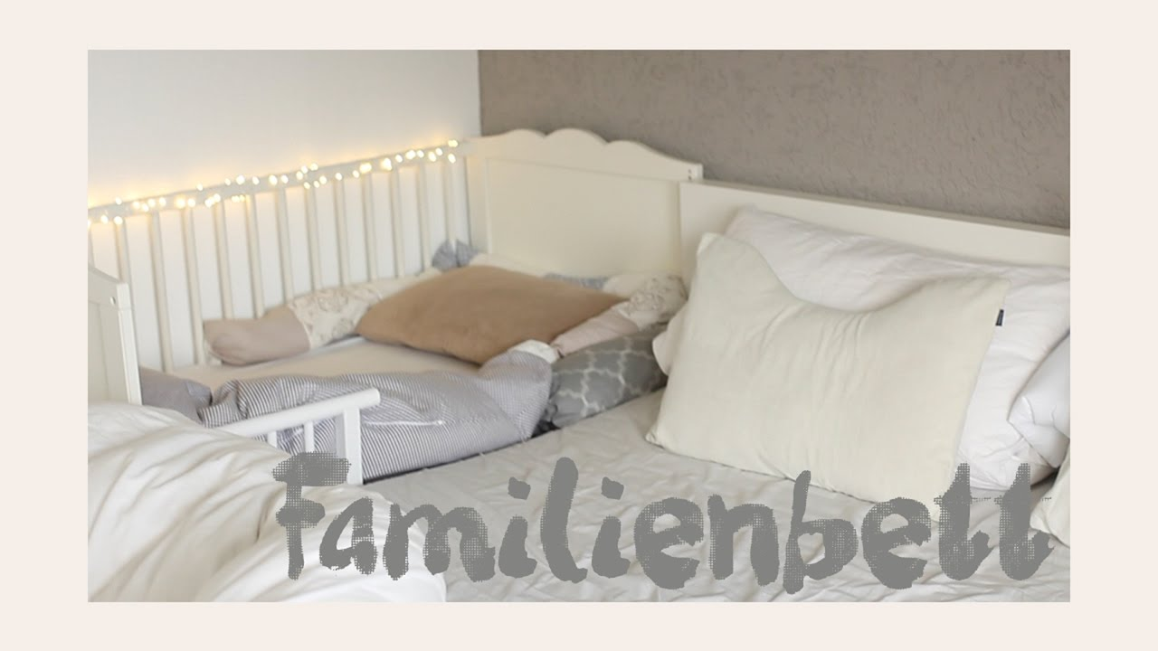 ikea hensvik zum beistellbett umbauen aktuelle schlafsituation familienbett youtube. Black Bedroom Furniture Sets. Home Design Ideas
