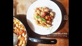 UNDER 10 MIN GOURMET DINNER - VEGAN FRESH TOMATO GNOCCHI  | Connie's RAWsome kitchen