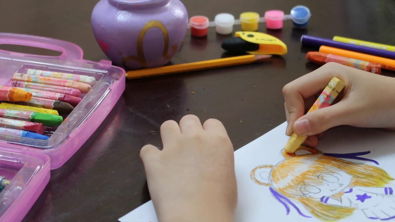 Vẽ Chibi cung Sư tử | Hướng dẫn vẽ chibi 12 cung hoàng đạo | bé CIU chỉ cách vẽ Chibi dễ nhất