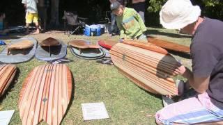 Wooden Surfboard Day - Currumbin Alley, Gold Coast Australia