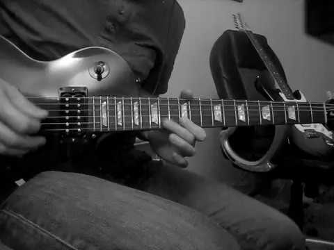 Ugly Kid Joe - Busy Bee first guitar solo cover (Dave Fortman)