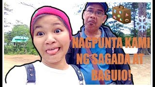 Claudette Travel Vlog #6: Sagada-Baguio PART 1