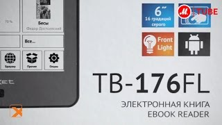 Электронная книга teXet TB-176FL(Подробнее на http://www.mvideo.ru/products/elektronnaya-kniga-texet-tb-176fl-karta-30020189?reff=youtube_texet-tb-176fl-karta-30020189 Электронная ..., 2014-09-22T14:46:18.000Z)