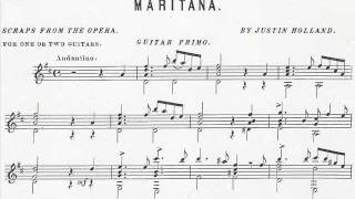 """8. MARITANA """"Scraps From The Operas"""" by Justin Holland; two guitars"""