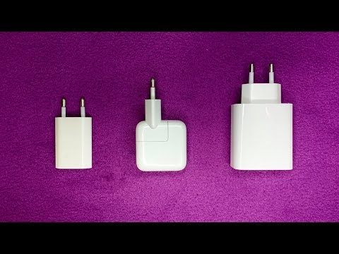 Тест зарядных устройств 5W/12W/30W для IPhone XS Max/XR/11 #КИБЕРОБЗОР