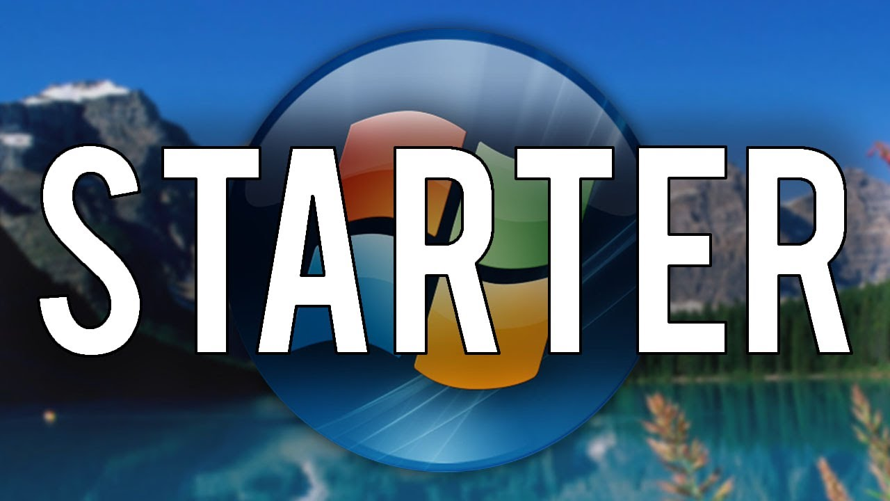 Windows Vista Starter - Installation & Demo