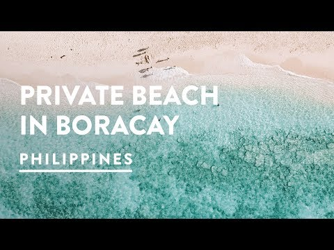 ARE WE ALLOWED HERE? STATION X & PRIVATE BEACH BORACAY | Philippines Travel Vlog 095, 2017