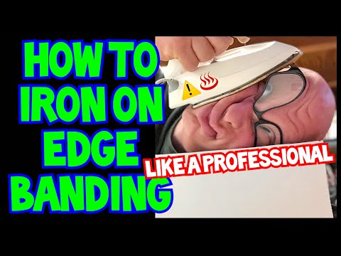 How To Iron On Edge Banding